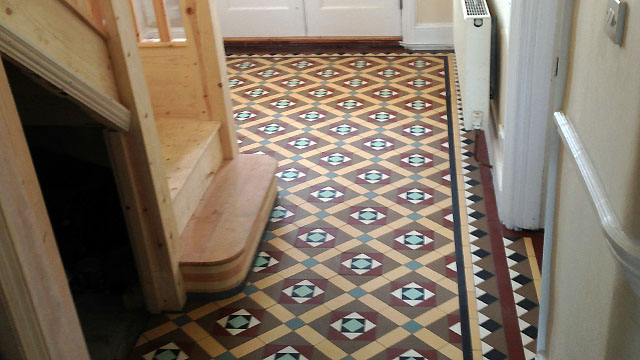 1930s floor tiles reproduction